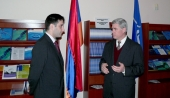 U.S. Deputy Assistant Secretary of Defense visited the Information Center of NATO in Yerevan