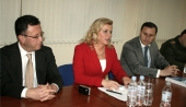 NATO Assistant Secretary GeneralKolinda Grabar-Kitarovic visits Information center on NATO in Armenia