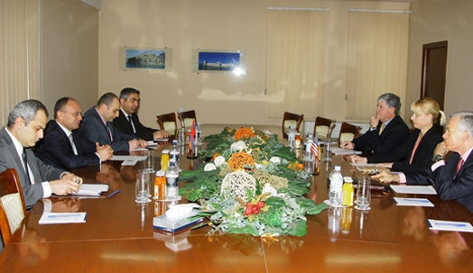 Seyran Ohanyan receives U.S. advisors