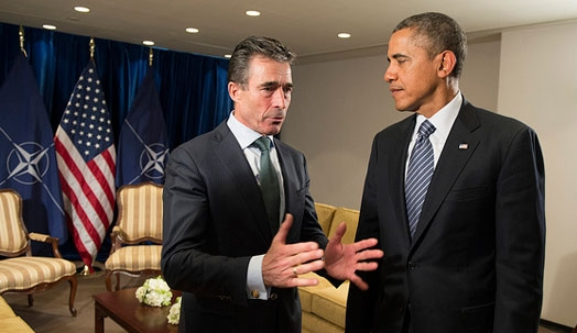 NATO Secretary General and US President stress commitment to collective defence