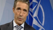 Anders Fogh Rasmussen. Russia's first step should be to pull back its troops