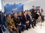 Video conference between Armenian peacekeepers and their families.