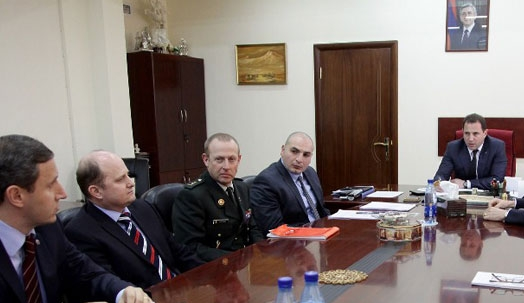 NATO representatives in Armenia