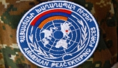 Armenian peacekeepers leave for Germany