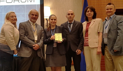 Armenia wins the first prize again at NATO e-Learning Forum