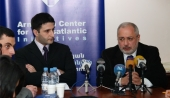 2008 Armenian Presidential Candidates in the Information Center on NATO in Armenia